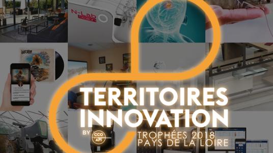 Les 5 lauréats régionaux des Trophées Territoires Innovation 2018