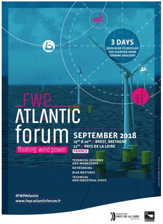 Floating Wind Power Atlantic Forum - (Bretagne - PDL)