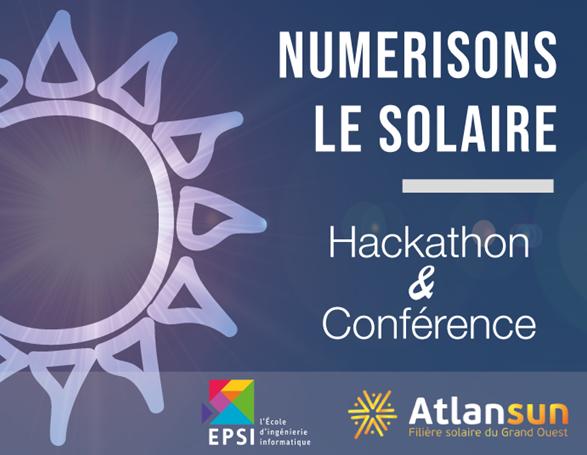 """Conférence Atlansun : """"Le digital pour libérer le solaire"""" - (44)"""
