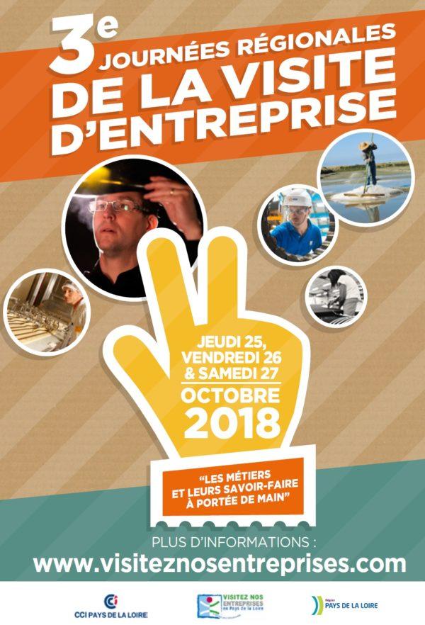 3èmes Journées Régionales de la Visite d'Entreprise 2018 ! - (PDL)
