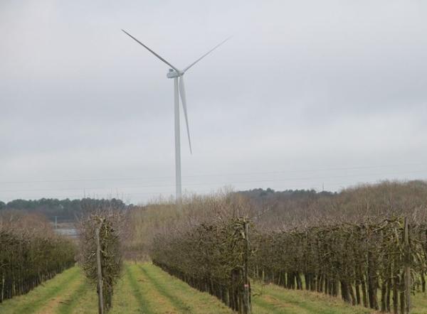 Un nouveau parc éolien a été inauguré à Lavernat