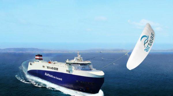 AirSeas s'implante à Nantes avec son concept d'aile volante tractant des navires