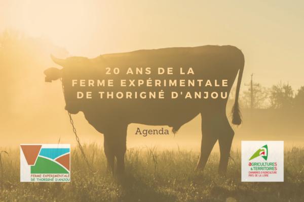 Les 20 ans de la ferme expérimentale de Thorigné d'Anjou - (49)