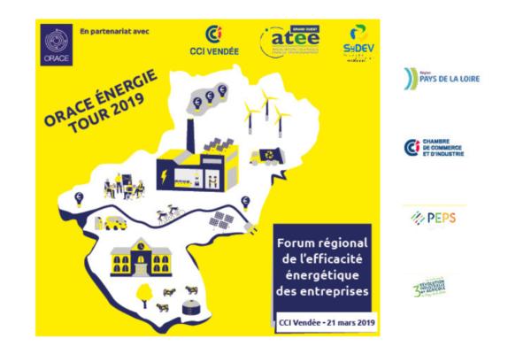 ORACE Energie Tour 2019: le forum de l'efficacité énergétique