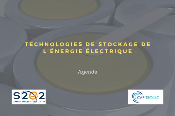 Formation aux technologies de stockage de l'énergie électrique - (44)