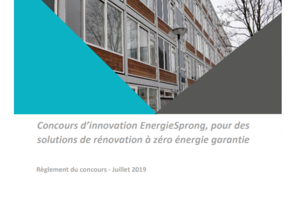 [Appel à innovations] Concours d'innovation EnergieSprong