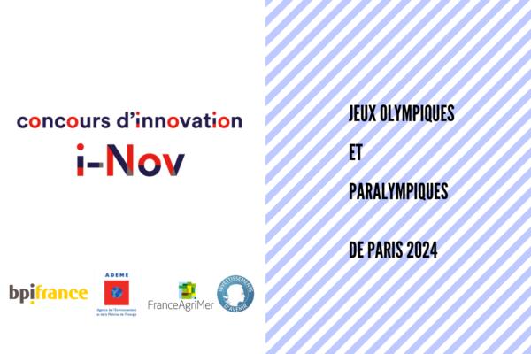[Appel à projets] Concours d'innovation i-Nov (JOP Paris 2024)