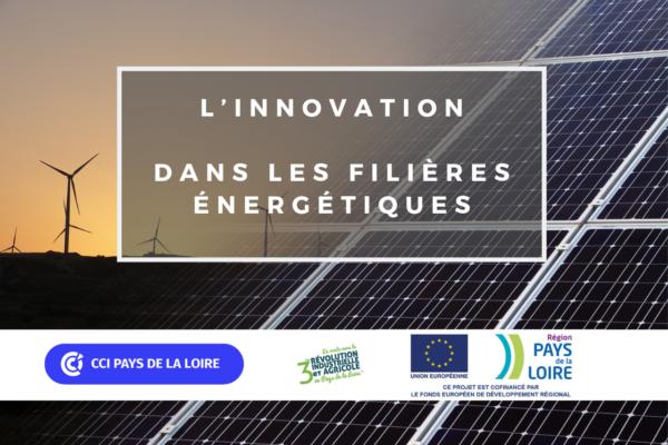 Enquête sur l'innovation dans les filières énergétiques en Pays de la Loire