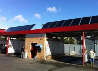 Appel à projets : Le chauffe-eau solaire de votre station de lavage pour automobiles
