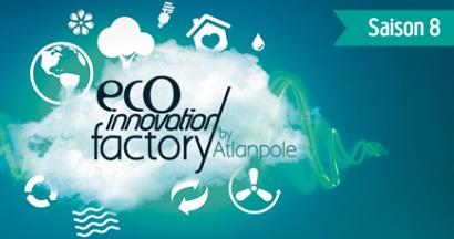Appel à projets : l'énergie, l'environnement et la mer. Atlanpole - saison 8 d'Eco Innovation Factory.